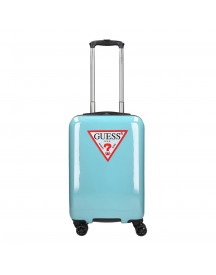Guess Icon Triangle Trolley 55 Pop Blue Harde Koffer afbeelding