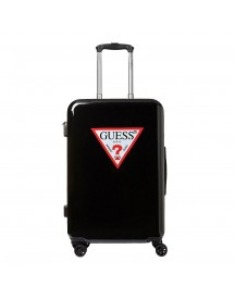 Guess Icon Triangle Trolley 67 Black Harde Koffer afbeelding