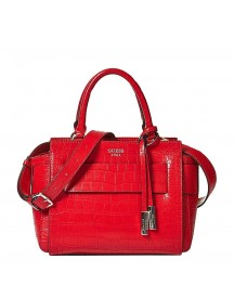 Guess Moritz Satchel Small Red afbeelding