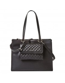 Guess Sienna 2 In 1 Tote Black afbeelding