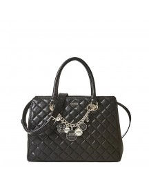 Guess Victoria Luxury Satchel Black afbeelding