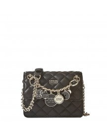 Guess Victoria Mini Crossbody Flap Black afbeelding
