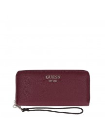 Guess Vikky Slg Large Zip Around Burgundy afbeelding