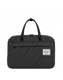 Herschel Supply Co. Bowen Reistas Black Crosshatch Weekendtas afbeelding