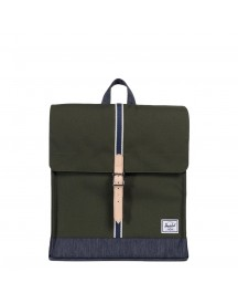 Herschel Supply Co. City Mid-volume Rugzak Forest Night / Dark Denim afbeelding
