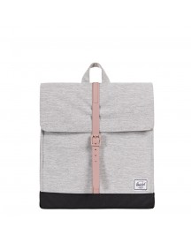 Herschel Supply Co. City Mid-volume Rugzak Light Grey Crosshatch / Ash Rose / Black afbeelding