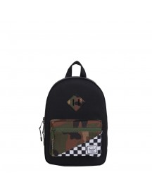 Herschel Supply Co. Heritage Kids Kids Rugzak Black/checker/woodland Camo afbeelding