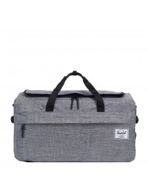 Herschel Supply Co. Outfitter Reistas Raven Crosshatch Weekendtas afbeelding
