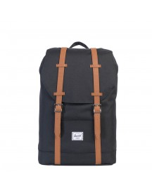 Herschel Supply Co. Retreat Mid-volume Rugzak Black / Tan afbeelding
