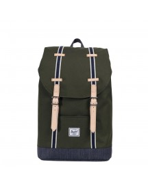 Herschel Supply Co. Retreat Mid-volume Rugzak Forest Night / Dark Denim afbeelding