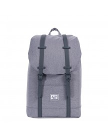 Herschel Supply Co. Retreat Mid-volume Rugzak Mid Grey Crosshatch afbeelding