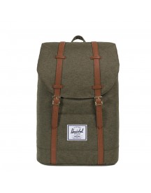 Herschel Supply Co. Retreat Rugzak Ivy Green Slub afbeelding