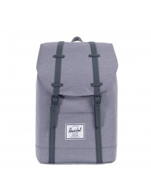 Herschel Supply Co. Retreat Rugzak Mid Grey Crosshatch afbeelding