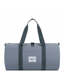 Herschel Supply Co. Sutton Mid Volume Duffle Mid Grey Crosshatch Weekendtas afbeelding