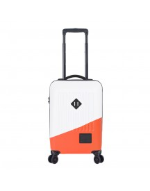 Herschel Supply Co. Trade Power Carry On Trolley White / Vermillion Orange Harde Koffer afbeelding