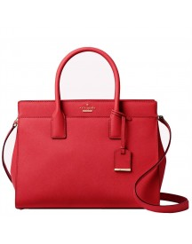 Kate Spade Cameron Street Candace Satchel Heirloom Red afbeelding