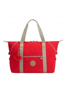 Kipling Art M Reistas True Red C Weekendtas afbeelding