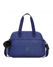 Kipling July Bp Weekendtas Cotton Indigo Weekendtas afbeelding