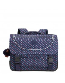 Kipling Preppy Schooltas Medium Blue Dash C afbeelding