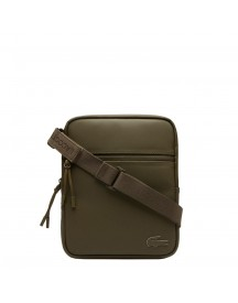 Lacoste Men M Flat Crossover Bag Military Olive afbeelding