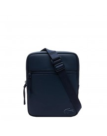 Lacoste Men S Flat Crossover Bag Blue Wing Teal afbeelding