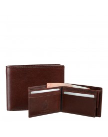 Leonhard Heyden Cambridge Billfold Medium Brown afbeelding