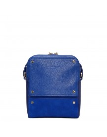Liebeskind Mix N´patch Patent Crossbody Bag S Deep Blue afbeelding