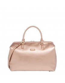 Lipault Miss Plume Bowling Bag Fl Pink Gold afbeelding