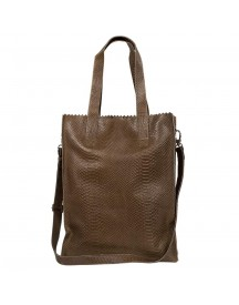 Myomy Paper Bag Deluxe Office Anaconda Taupe afbeelding