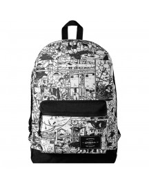 O'neill Coastline Graphic Backpack White Aop afbeelding
