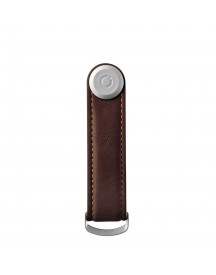 Orbitkey Premium Leather 2.0 Keyholder Espresso / Brown afbeelding