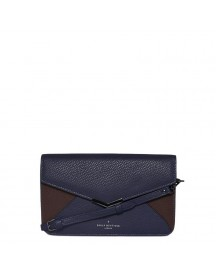 Pauls Boutique Clapham Bonita Clutch Bag Navy / Burgundy Damestas afbeelding