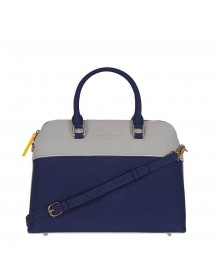 Pauls Boutique Maisy Maisy Top Handle Bag Grey / Navy afbeelding