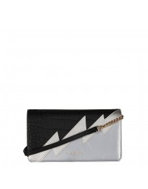 Pauls Boutique Smithfield Renee Clutch Bag Pewter / Black afbeelding
