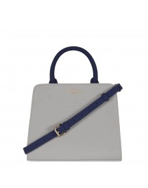 Pauls Boutique The Chancery Collection Logan Handbag Grey / Navy afbeelding