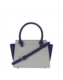 Pauls Boutique The Chancery Collection Mini Bethany Handbag Grey / Navy afbeelding