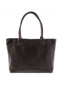Plevier Crunch Leather Tote Laptoptas 14