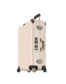 Rimowa Limbo Multiwheel Trolley 81 Electronic Tag Creme White Harde Koffer afbeelding