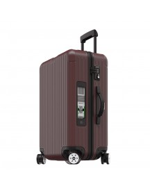 Rimowa Salsa Multiwheel 68 Electronic Tag Matte Carmona Red Harde Koffer afbeelding
