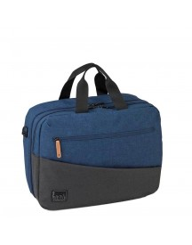Roncato Adventure Laptop Boarding Bag 2 Compartments Navy afbeelding