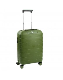 Roncato Box 2.0 4 Wiel Cabin Trolley 55 Verde Militare Harde Koffer afbeelding