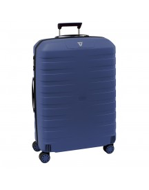 Roncato Box 2.0 4 Wiel Trolley Large 78 Blue Harde Koffer afbeelding