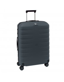 Roncato Box 2.0 4 Wiel Trolley Medium 69 Anthracite Harde Koffer afbeelding