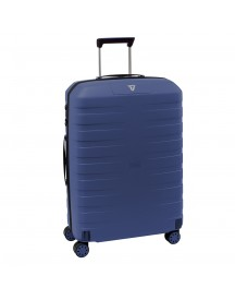 Roncato Box 2.0 4 Wiel Trolley Medium 69 Navy Harde Koffer afbeelding