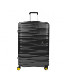 Roncato Stellar Large 4 Wiel Trolley Exp Antracite Harde Koffer afbeelding