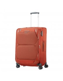 Samsonite Dynamore Spinner 67 Expandable Burnt Orange Zachte Koffer afbeelding