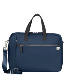 Samsonite Eco Wave Bailhandle 15.6'' 2 Comp Midnight Blue afbeelding