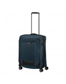 Samsonite Pro-dlx 5 Spinner 55 Expandable Oxford Blue Zachte Koffer afbeelding