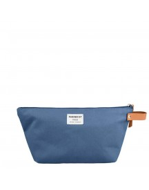 Sandqvist Cleo Wash Bag Dusty Blue Toilettas afbeelding