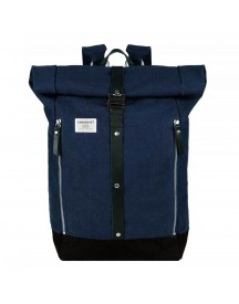 Sandqvist Rolf Backpack Waxed Blue afbeelding